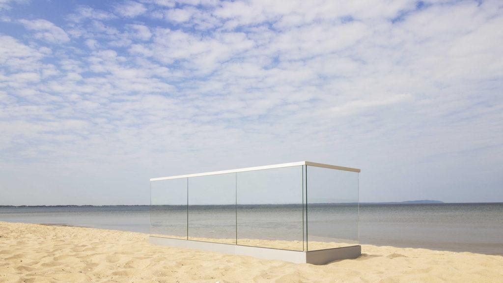 Garde-corps en verre sans poteau / Garde-corps en verre intégral