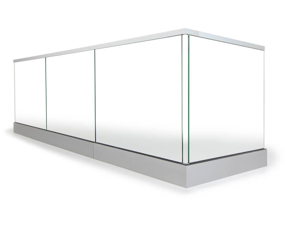 Le nec plus ultra en matière de garde-corps en verre