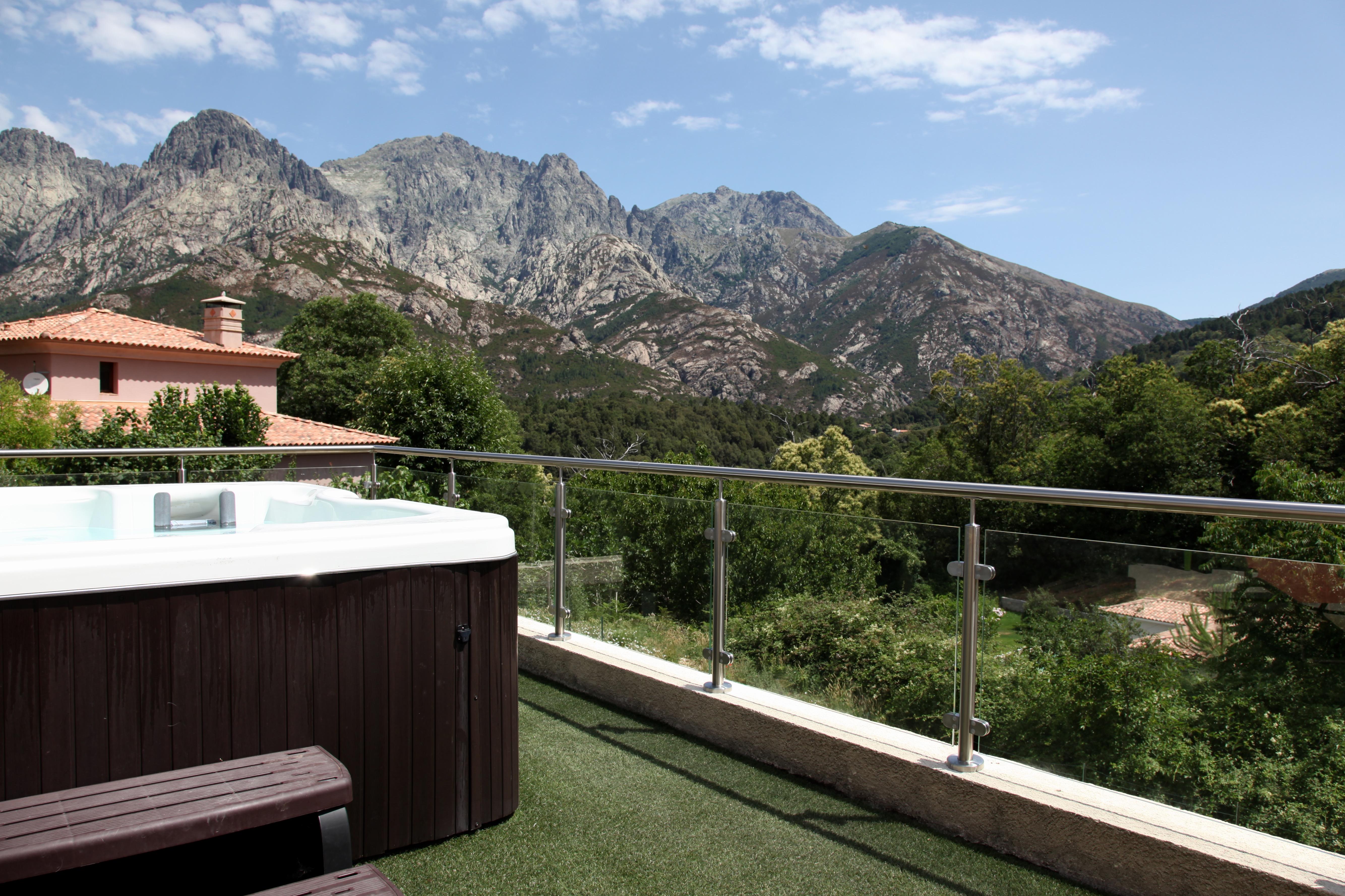 Balustrade inox et verre pour terrasse