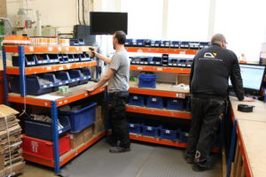 Emballage des outils et accessoires