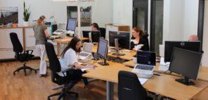 Réception dans votre commande dans nos bureaux