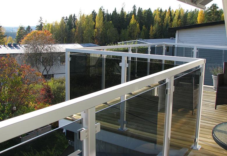 Garde Corps Verre Et Aluminium Pour Terrasse Et Balcon