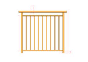 Dimension garde-corps de balcon: sécuriser votre balcon